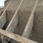 Hempcrete roof